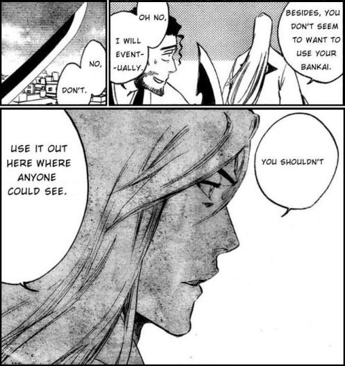 Don't be such a party pooper, Ukitake, and let the man reveal his Bankai already!