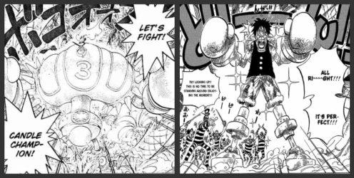'Fighting Champion' Luffy Edition! Now able to smack the bithces and hoes from a distance!