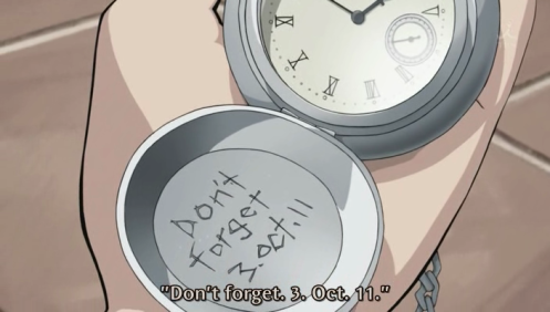 Don't forget 3. October .11