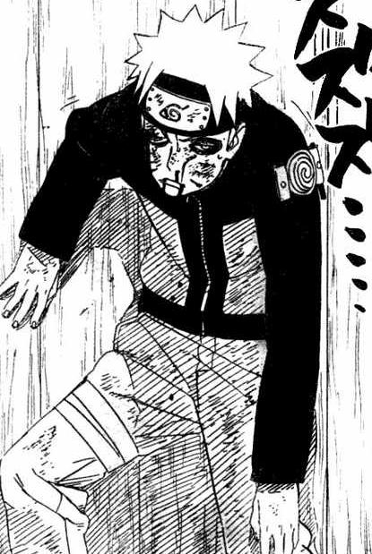 Instead of hug Naruto loves getting punched in the face. He is a true masochist.