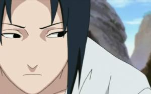 Yes Sasuke. If you just advert your eyes for the duration of the conversation, they won't realise you have one...Well until you lose it