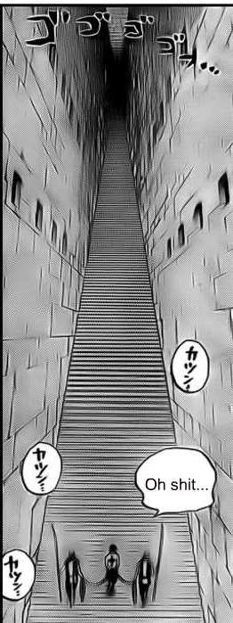 OH OH OH!! Ace if you don't have the 80 stairs to get up the endless staircase I know a neat glicth you can use! :D