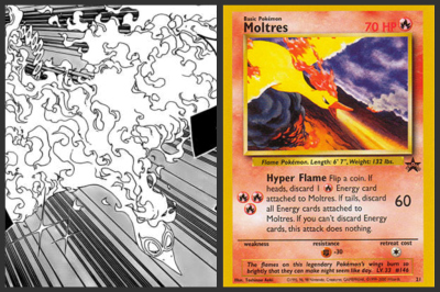 Yeeaaahhh, you all thought I was crazy but I told you he was a legendary pokemon! :P