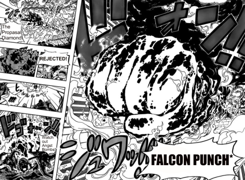 Can a Falcon Punch joke be overdone? Nah! :D