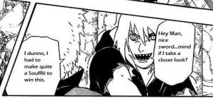 Apparently Suigetsu is a Kleptomania and Darui knows it