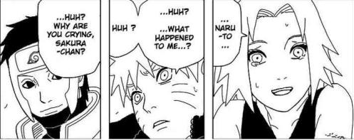 Narutos recovery from Kyuubi