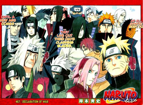 I can understand Kakashi, but Naruto, Sai and Sakura.. Get the HELL out of the dead conference!