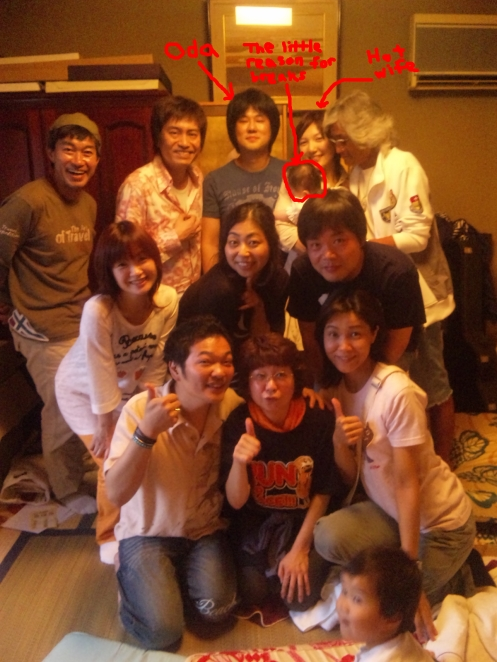 Oda, family, and crew!