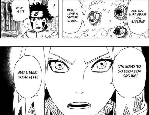 Sakuras determination