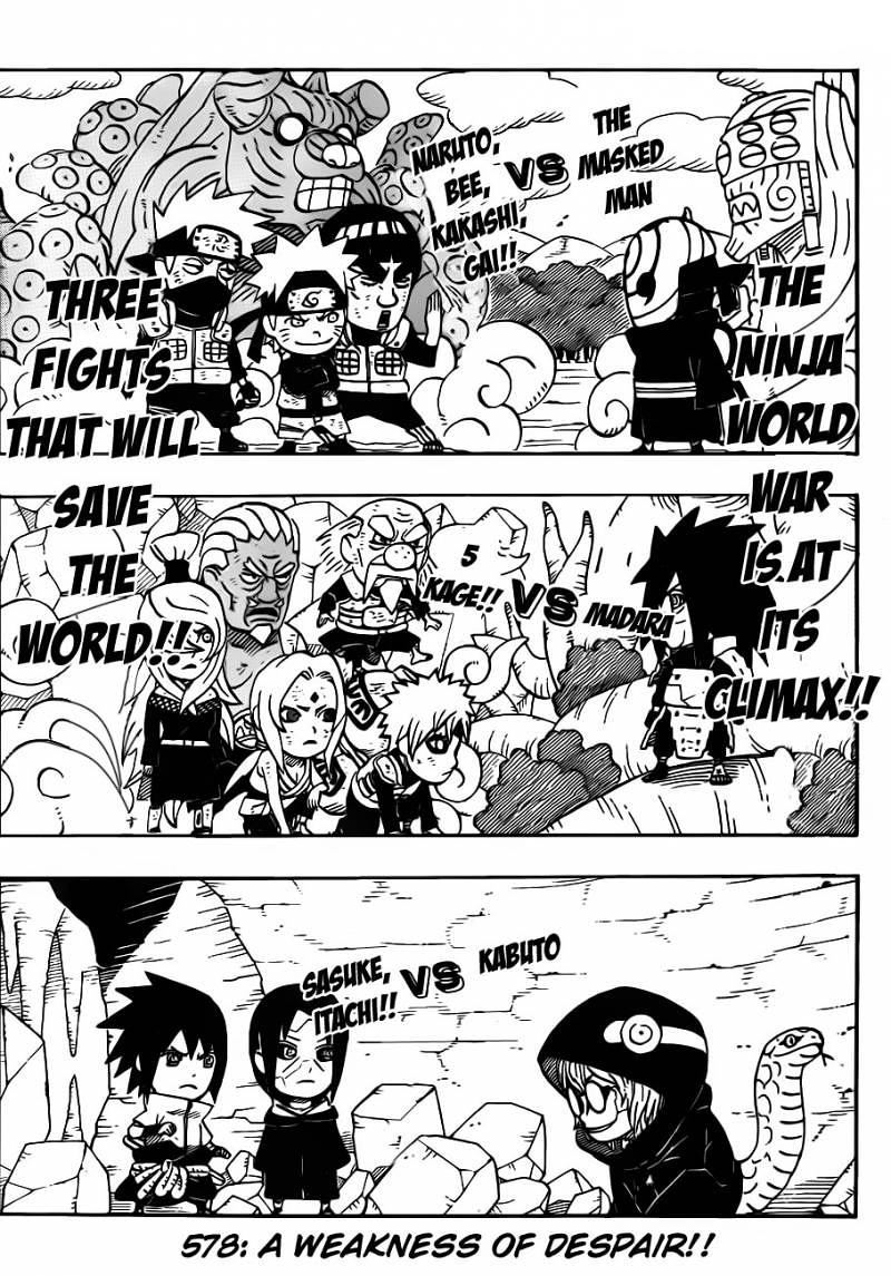 Naruto Chapter 578 Breakdown Emo Brothers Of The World Unite Wra