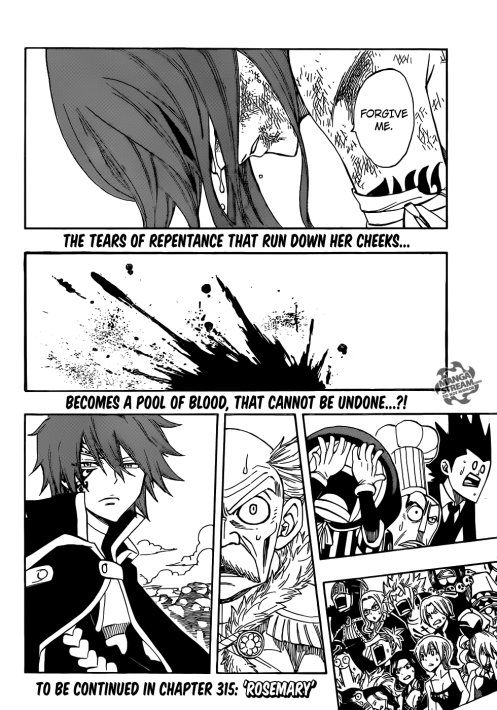 Jellal's expression makes me wanna punch him in the face. :twisted:
