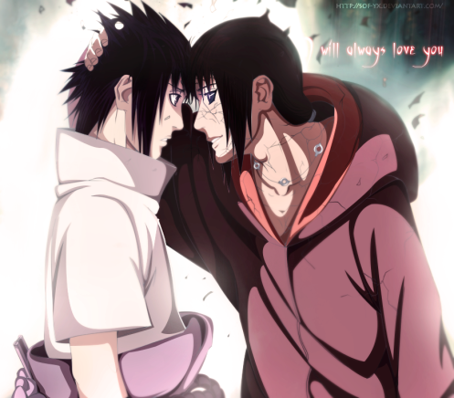 I can only imagine how Sasuke would have handled being a middle child.