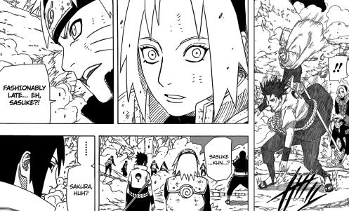 Sasuke's return