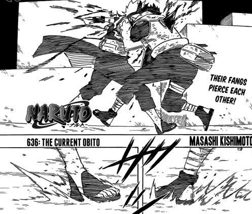 """That was the last time Kakashi and Obito ever attempted the """"Pasodoble""""."""