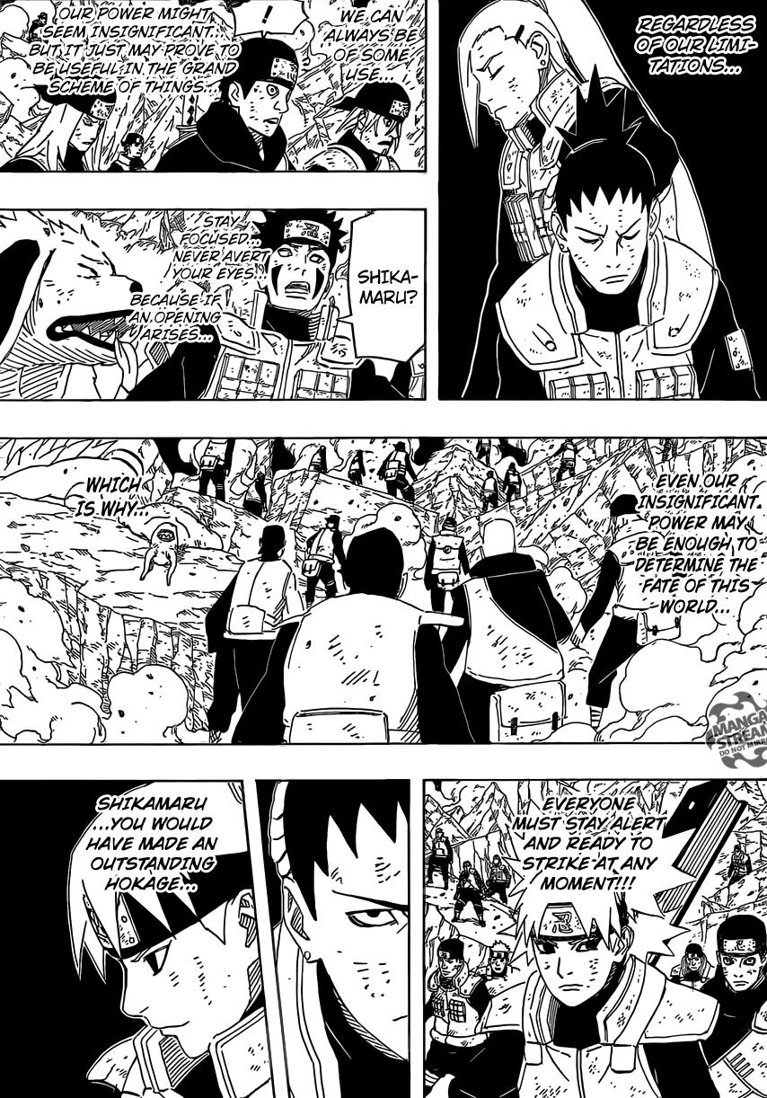 Naruto Chapter 640 – 641 Breakdown: Complete mayhem. | WRA