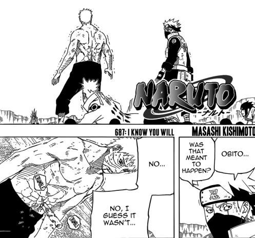 Obito's Ninchaku demonstration went terribly wrong.