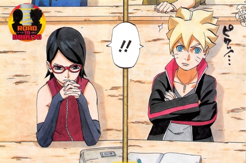 Should I be surprised that Boruto's notebook is completely empty...?